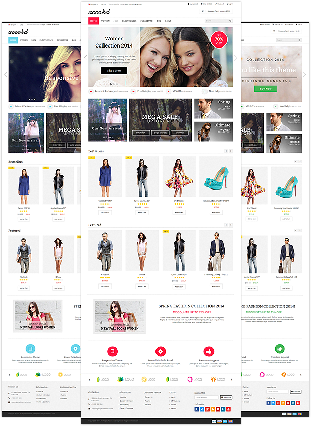 Accord - Responsive Multipurpose OpenCart Theme