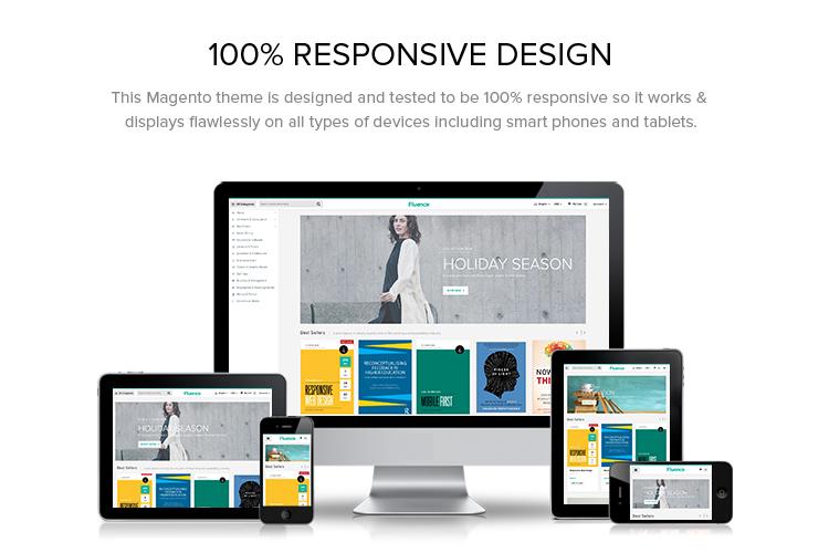 100% Responsive Design