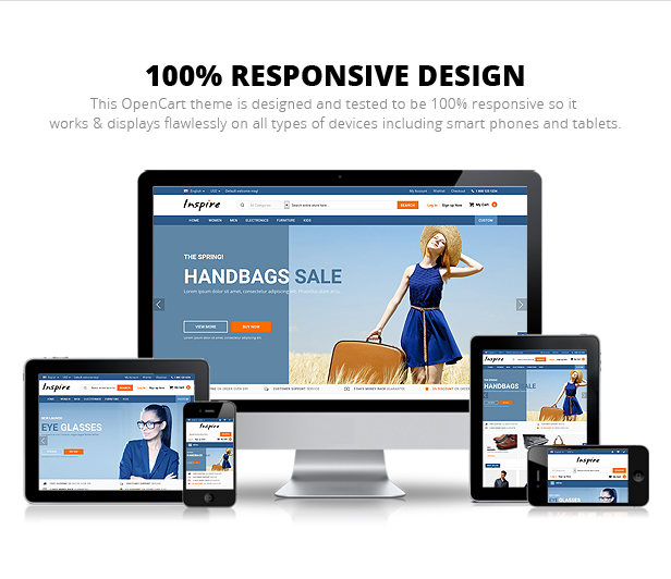 Inspire - Responsive Multipurpose OpenCart Theme
