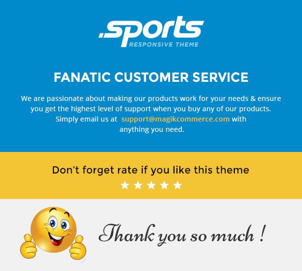 Sports store website