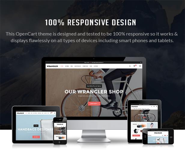 Wrangler - Responsive Multipurpose OpenCart Theme