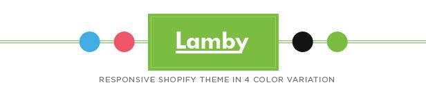 Lamby - Responsive Shopify Theme
