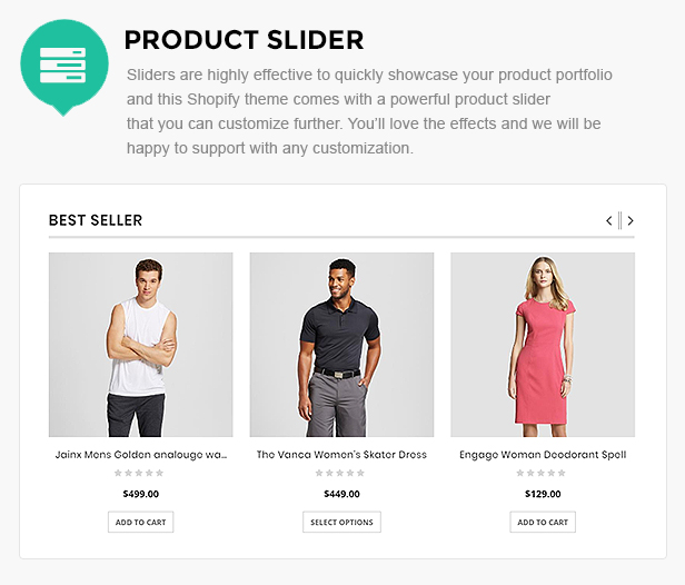 clothing store template