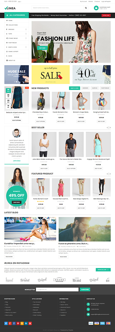 Clothing Store Shopify Theme