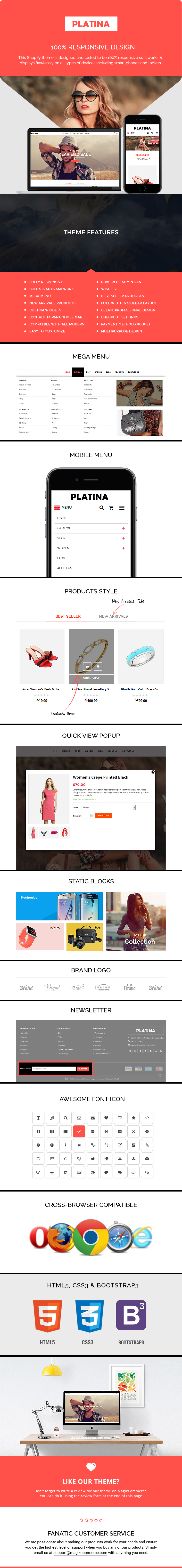 best shopify template