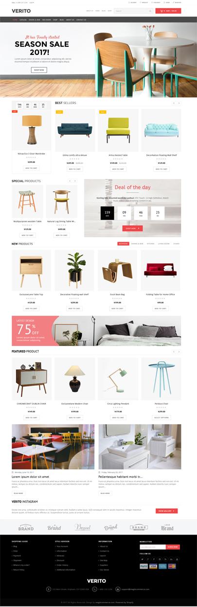 furniture responsive theme