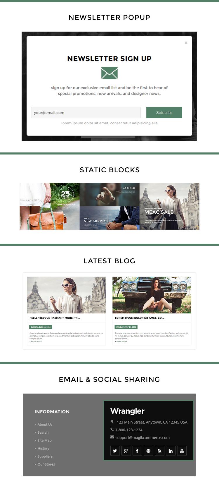 fashion store shopify template