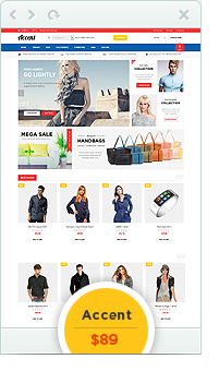 accent - Eclipse - Responsive Multipurpose Magento Theme