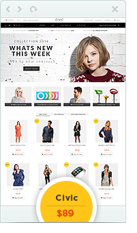 civic - Eclipse - Responsive Multipurpose Magento Theme