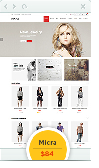 Fabia - Advanced Responsive Magento Theme