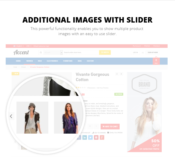 gift store responsive theme