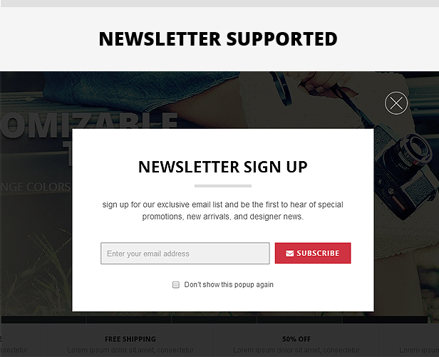Newsletter Supported