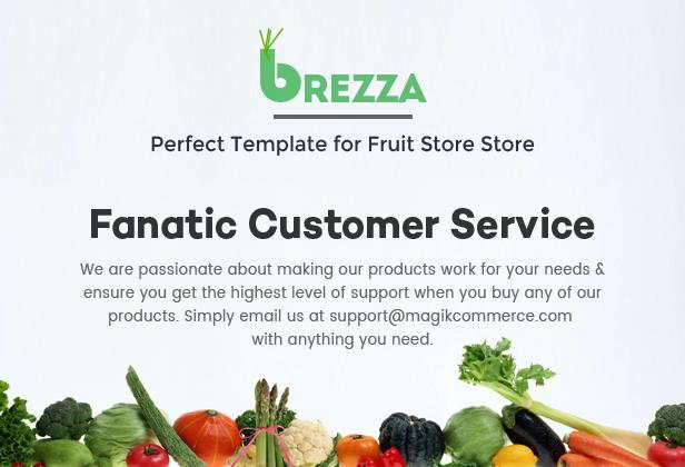 fruit store magento theme