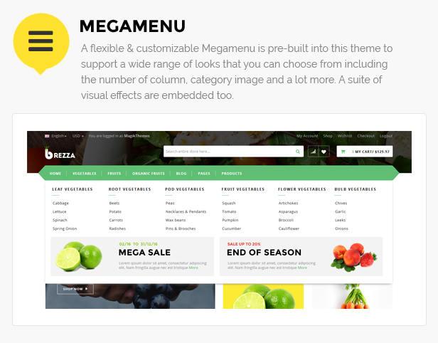 fruit store template