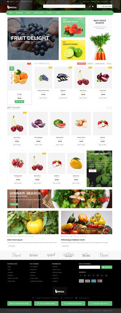 Fruit Store WooCommerce Theme