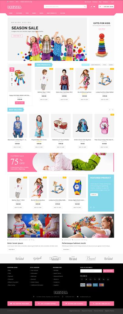 Kid Store WooCommerce Theme