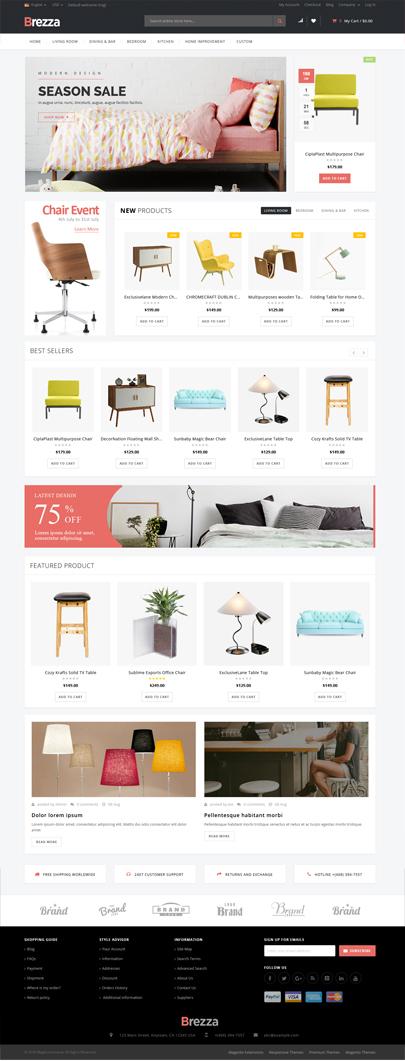 Furniture Store WooCommerce Theme