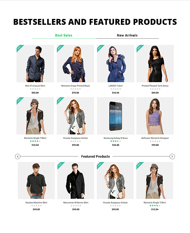 Bestsellers and Featured
