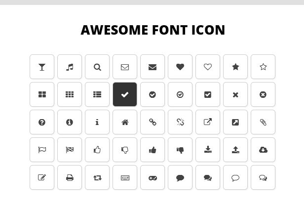 awesome font - Eclipse - Responsive Multipurpose Magento Theme