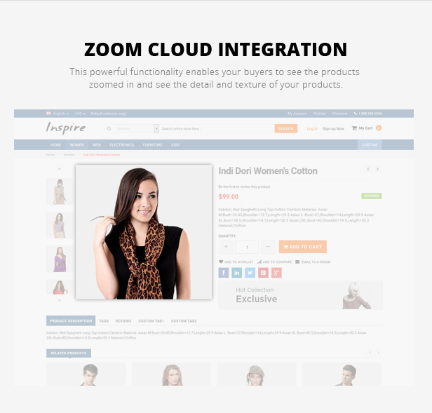 fashion store template