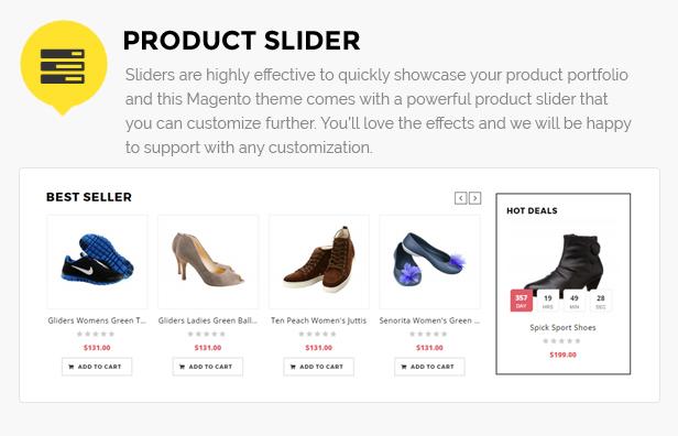 shoes shop magento