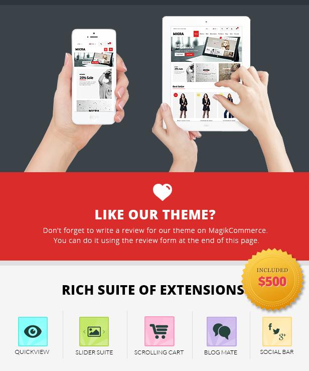 Rich Suit Extension