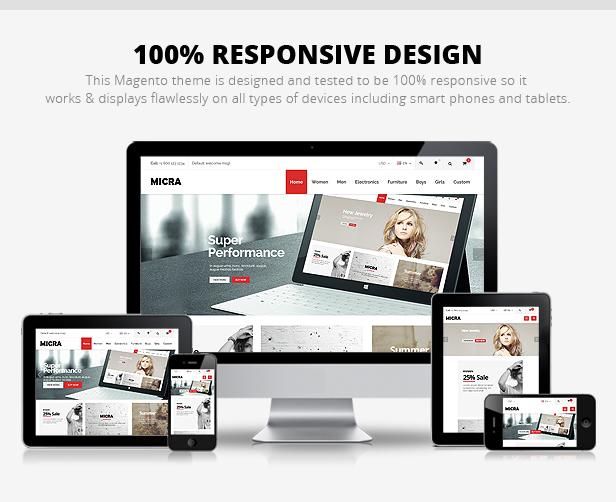 micra magento premium theme 100 responsive template