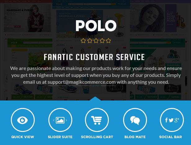 Polo - Advanced Responsive Magento Theme