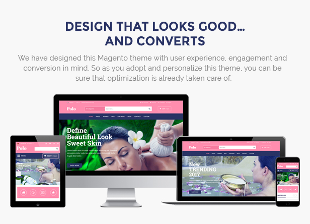 beauty store responsive theme
