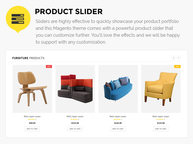 furniture shop magento
