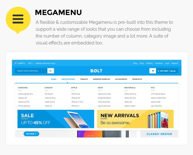 Mobile shop wordpress