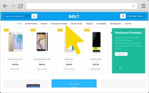 mobile store wordpress theme