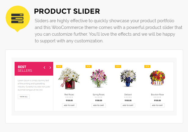 flower store Template