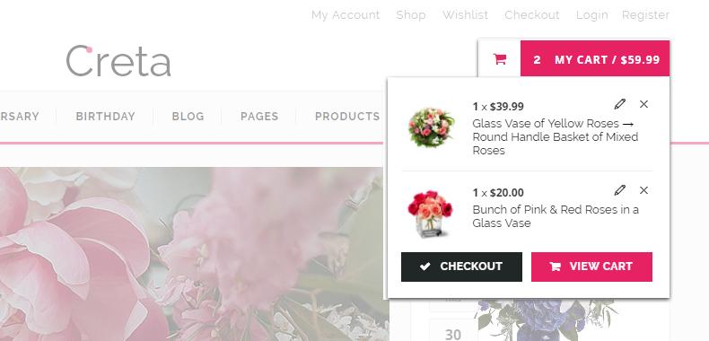 Flower WooCommerce Theme