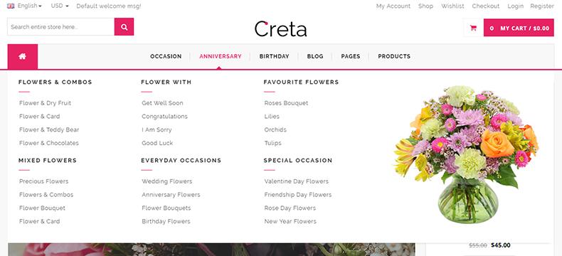 flower store website