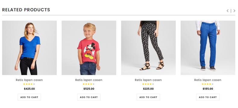 clothing store wp theme