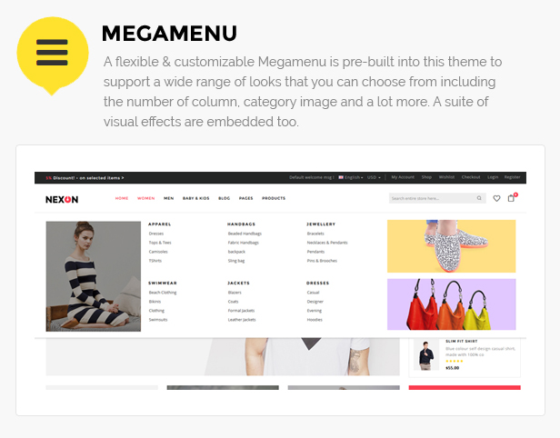 apparel store template
