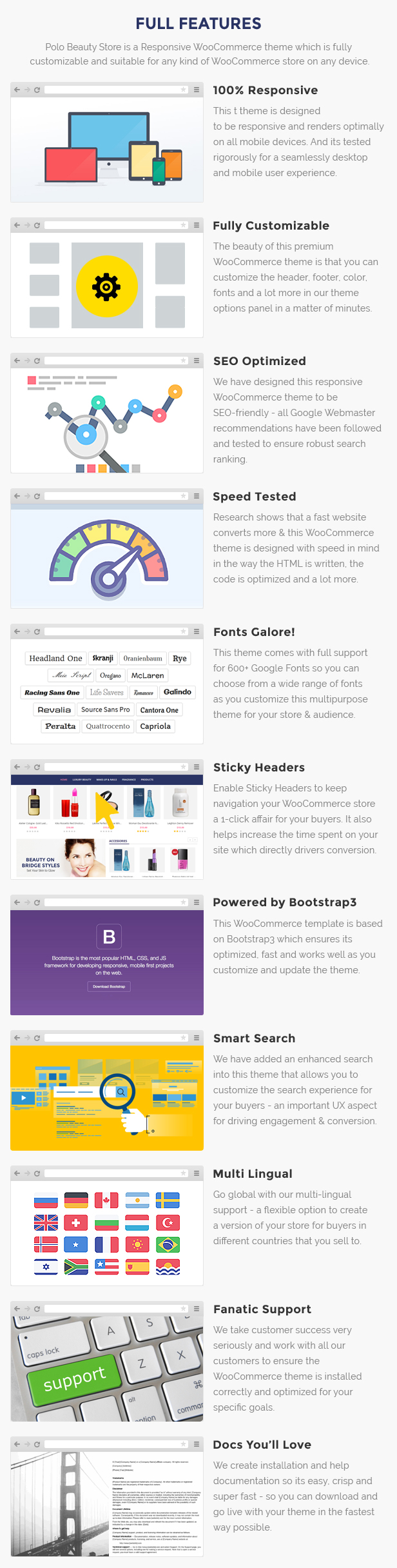 beauty store woocommerce template