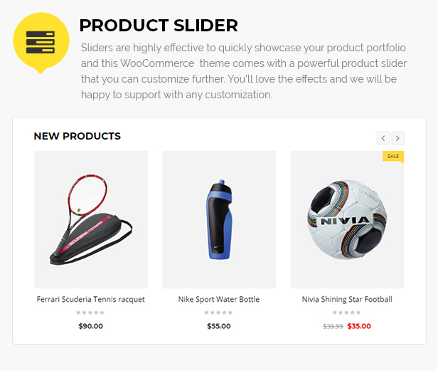sports store template