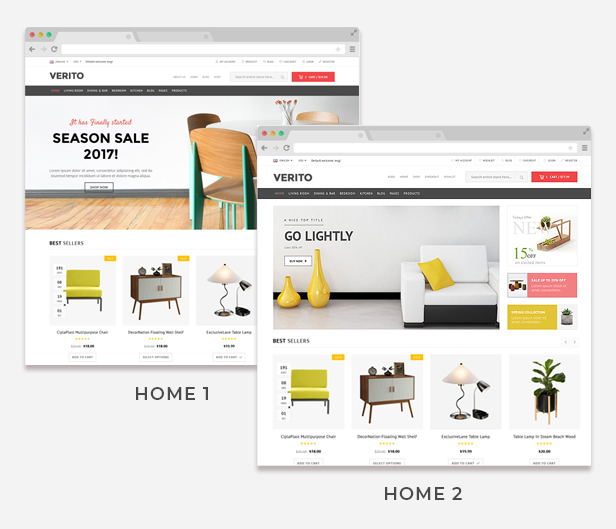 furniture responsive wordpress demo