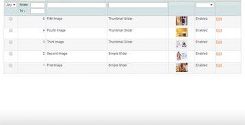 Slider Image Manager tab