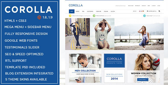 Corolla - Music Store Responsive Magento Theme-0