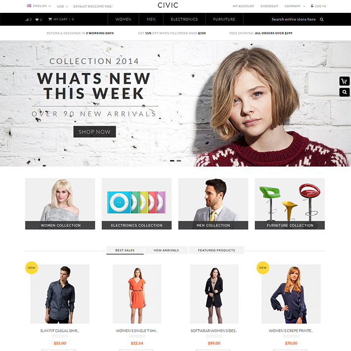 Civic - Responsive PSD Template-0