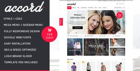 Accord - Responsive OpenCart Theme