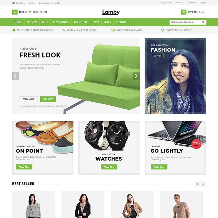 Lamby - Responsive PSD Template-0