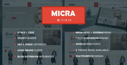 Micra - Magento Theme