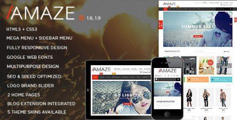 Amaze - Magento Theme
