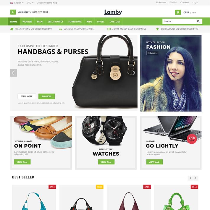 Lamby - Responsive HTML Template-0