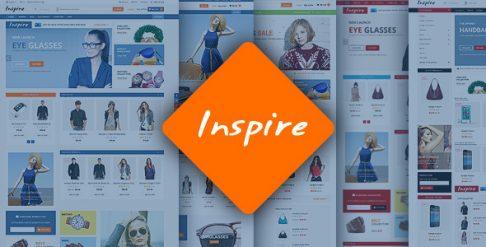 Inspire - Responsive Magento Theme
