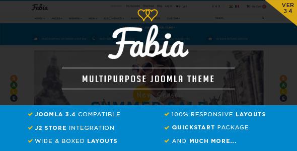Fabia - J2Store Theme-0